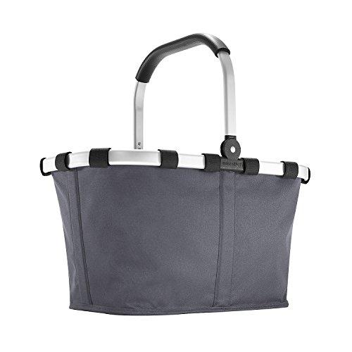 reisenthel carrybag graphite  Einklaufskorb 48 x 29 x 28 cm, 22 Liter