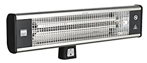 Sealey IWMH1809R High Efficiency Carbon Fibre Infrared Wall Heater 1800W/230V