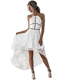 d4ad3b7e167f7 Beikoard - Robes Vetement Femme Été,Femme sans Manches Formelle Bal Robe de  Demoiselle D