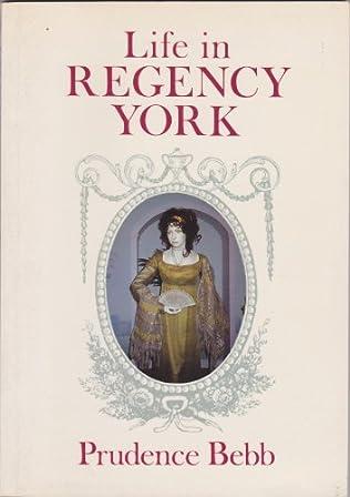 book cover of Life in Regency York