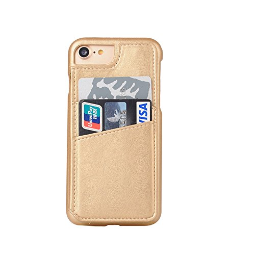 Cover per iPhone 8 Flip,Custodia per iPhone 7, Bonice Custodia in Pelle [Shock-Absorption][Anti Scratch] Cover Paraurti Durevole Custodia di funzione Griglia Wallet Pouch Plaid Leather Portafoglio Cov Modello 05
