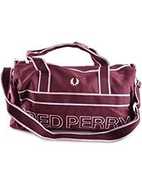 Fred Perry Homme MCBI128210O Bordeaux Polyester Sac De Voyage