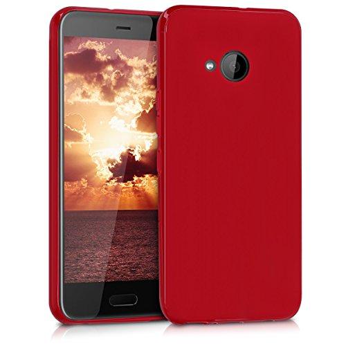 kwmobile HTC U11 Life Hülle - Handyhülle für HTC U11 Life - Handy Case in Rot matt