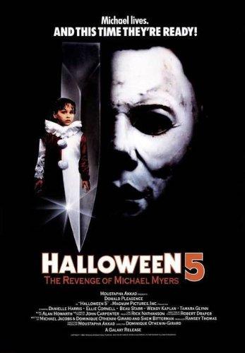 Halloween 5 - Die Rache des Michael Myers [VHS] (5 Halloween Vhs)
