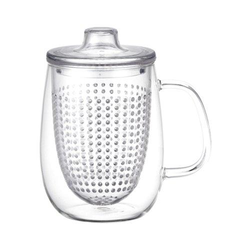 KINTO UniMug Tasse avec infuseur 510 ml transparent