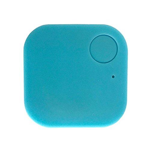 melysEU GPS Localizador Tracker de Seguimiento en Tiempo Real Coche Niños Mascotas Monederos Llaves Alarma (Azul)
