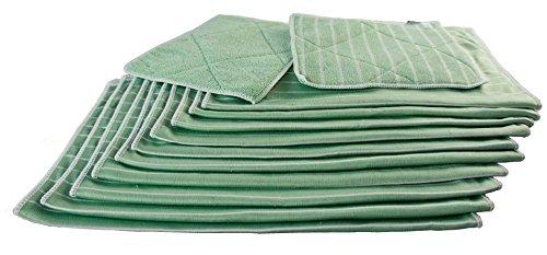 Muxel Bambus-Reinigung-Tuch, 12-er Set
