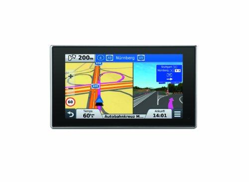 Garmin nüvi 3597LMT EU Navigationsgerät (12,7 cm (5 Zoll) Touch-Display, Kartenmaterial 45 Länder Europas, Gesamteuropa, Kartenupdate, TMC Pro) (Garmin Stromkabel)