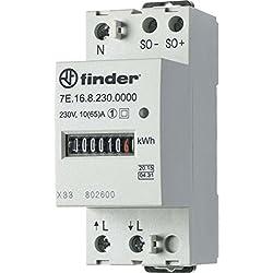 Finder serie 7e - Contador energia monofasico mid 5(32) aire