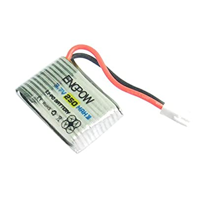 Helicopter Battery,Clode® 3.7V 250mAh Lipo Battery Charger for Syma X4 X11 Helicopter Drone