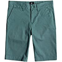 DC Shoes Worker Chino Shorts, Niños, Deep Sea-Solid, 28/14
