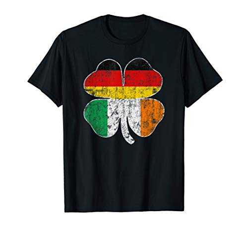 Irish German Flag Ireland Germany St Patricks Day T-Shirt