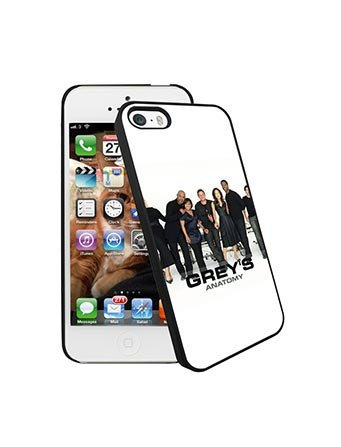 Iphone 5s Case Coque Grey's Anatomy for Woman Man Grey's Anatomy Iphone 5 Coque Case TV Show Hard Back Grey's Anatomy Coque Phone Cases for Iphone 5/5s/SE, Coques iphone
