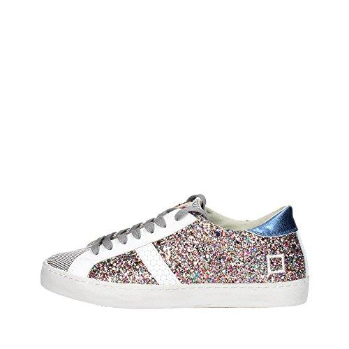 D.a.t.e. HILL LOW-40 Sneakers Femme Glitter Bariolé Bariolé