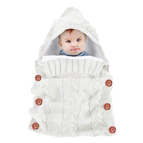 Baby Hoodied Swaddle Blanket Wrap Bolsas dormir invierno