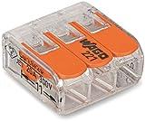 50Stück Wago 3-fach Compact Hebel-221–413