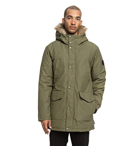 DC Shoes Bamburgh - Water-Resistant Hooded Parka