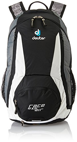Deuter Race EXP Air Mochila para Ciclismo, Unisex adulto, Negro (Black / White), 12 l