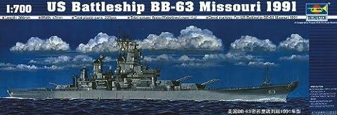 Trumpeter 05705Model Kit Battleship USS Missouri Bb 631991