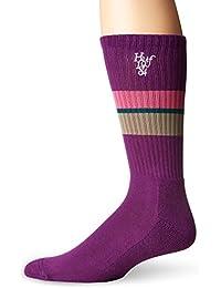 Herren Socken HUF 1984 Stripe Crew Socken