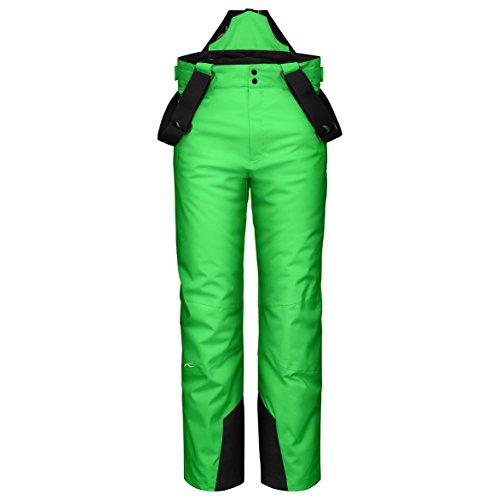 KJUS Kinder, Jungen Skihose grün 176 (Microfleece Hose Jungen)
