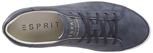 ESPRIT - Miana Lace Up, Scarpe da ginnastica Donna Blu (Blau (400 navy))