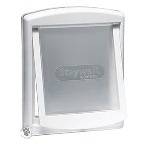 Staywell 2 Way Pet Door, 1 Kg, White