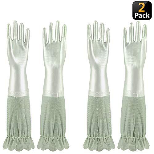 2 pares de guantes de limpieza Jeerhope por sólo 8,39€ con el #código: JEERHOPE9