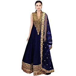Caffoy Cloth Company Women's Salwar Suit (Hope 10__Blue_Free Size)