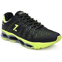 AZANI Sonic Surge Mens Running Shoe - Green/Black