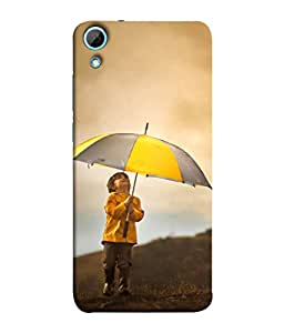 PrintVisa Designer Back Case Cover for HTC Desire 830 :: HTC Desire 830 Dual Sim (Cloudy Rainy Weather Mountain Walk)
