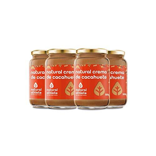 Burro di arachidi - natural athlete - 100% naturale, senza zuccheri aggiunti. pack 4x500g ...
