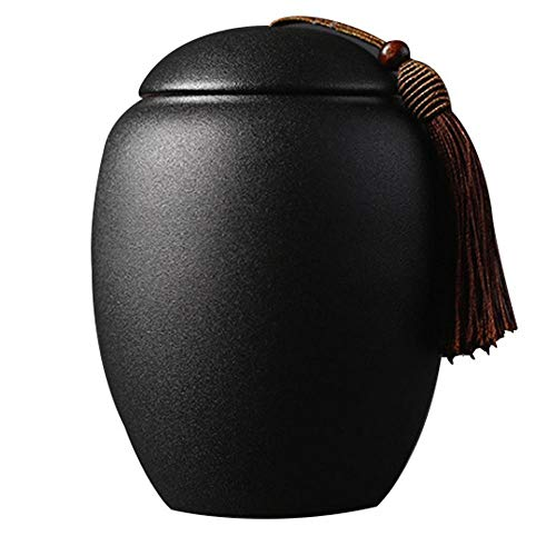 Teedose aus Keramik, Teedose/Teedose/Kaffeedose/Zuckerstangen/Teekanne/Teeset, Keramik, Storage Jar C, Einheitsgröße