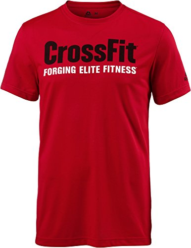 Reebok CrossFit Speedwick F.E.F. Graphic T-Shirt - SS18 - Medium (Rot Reebok Shirt)