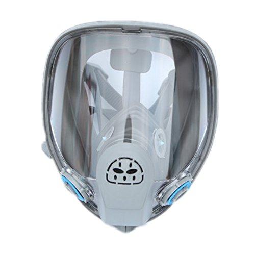 M Größe Silikon-Gasmaske Vollgesichtsmaskenkörper Respirator Gemälde Sprühen 6800