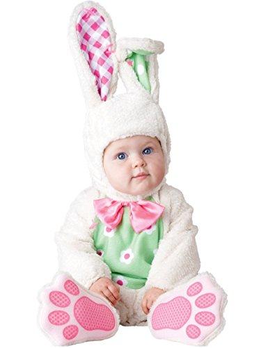 ädchen Weiß Ostern Häschen Charakter Halloween Kostüm Kleid Outfit - Weiß, 12-18 Monate (12-18 Monat-junge Halloween-kostüme)