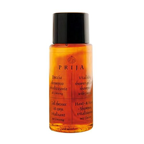 Prija Ginseng-Shampoo Dusche, 216Flaschen à 40ml