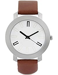 Bright Watches Analogue White Dial Men's Watch-BW02