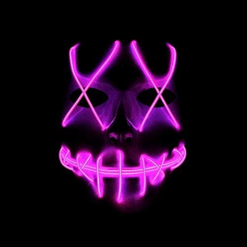Sulida Halloween LED Maske Coole Film EL Draht -