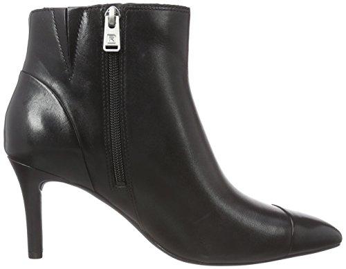 Rockport TM75MMPTH ANGLE Damen Halbschaft Stiefel Schwarz (BLACK LTHR)