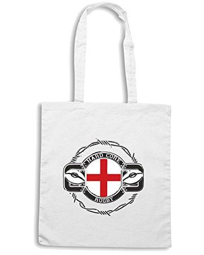 T-Shirtshock - Borsa Shopping TRUG0008 england rugby logo Bianco
