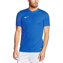 Nike Park VI Camiseta de Manga Corta para hombre, Azul (Royal Blue/White), XL