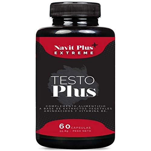 Testosterona formulada con TESTOFEN + ginseng, zinc y maca. Testosterona natural REGISTRADA y avalada con estudios clínicos. Aumento de masa muscular, rendimiento deportivo, fuerza y líbido. ISO 9001
