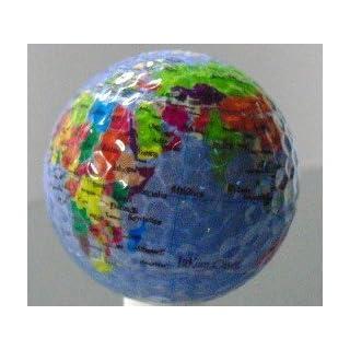 Earth Photo Golf Novelty Ball Single Ball