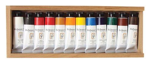 Jack Richeson 37-ml Künstler Öl Farben, Set von 12 -
