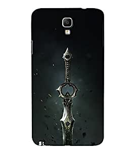 Drow Long Knife 3D Hard Polycarbonate Designer Back Case Cover for Samsung Galaxy Note 3 Neo N7505