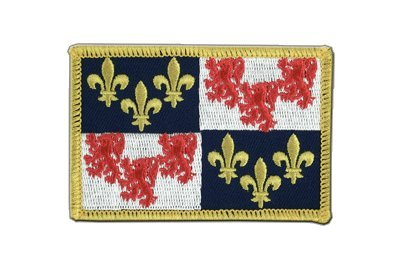 Price comparison product image France Picardie Flag, picard Flag Embroidered Patch, 60mm x 80mm, MaxFlags®