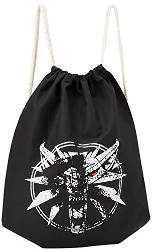TEXLAB - Hexer Logo - Turnbeutel, schwarz