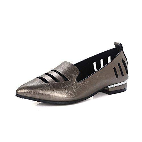 La version coréenne du printemps profondeur dans Astuce et chaussures d'été/brut avec faibles faibles chaussures coupées/Chaussures ajouré/Les souliers B