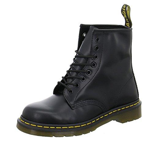 Dr. Martens Unisex-Erwachsene 1460 10072004 Sneaker, Schwarz Smooth 59 Last Black, 45 EU - Doc Martens Schwarz 1460 Stiefel
